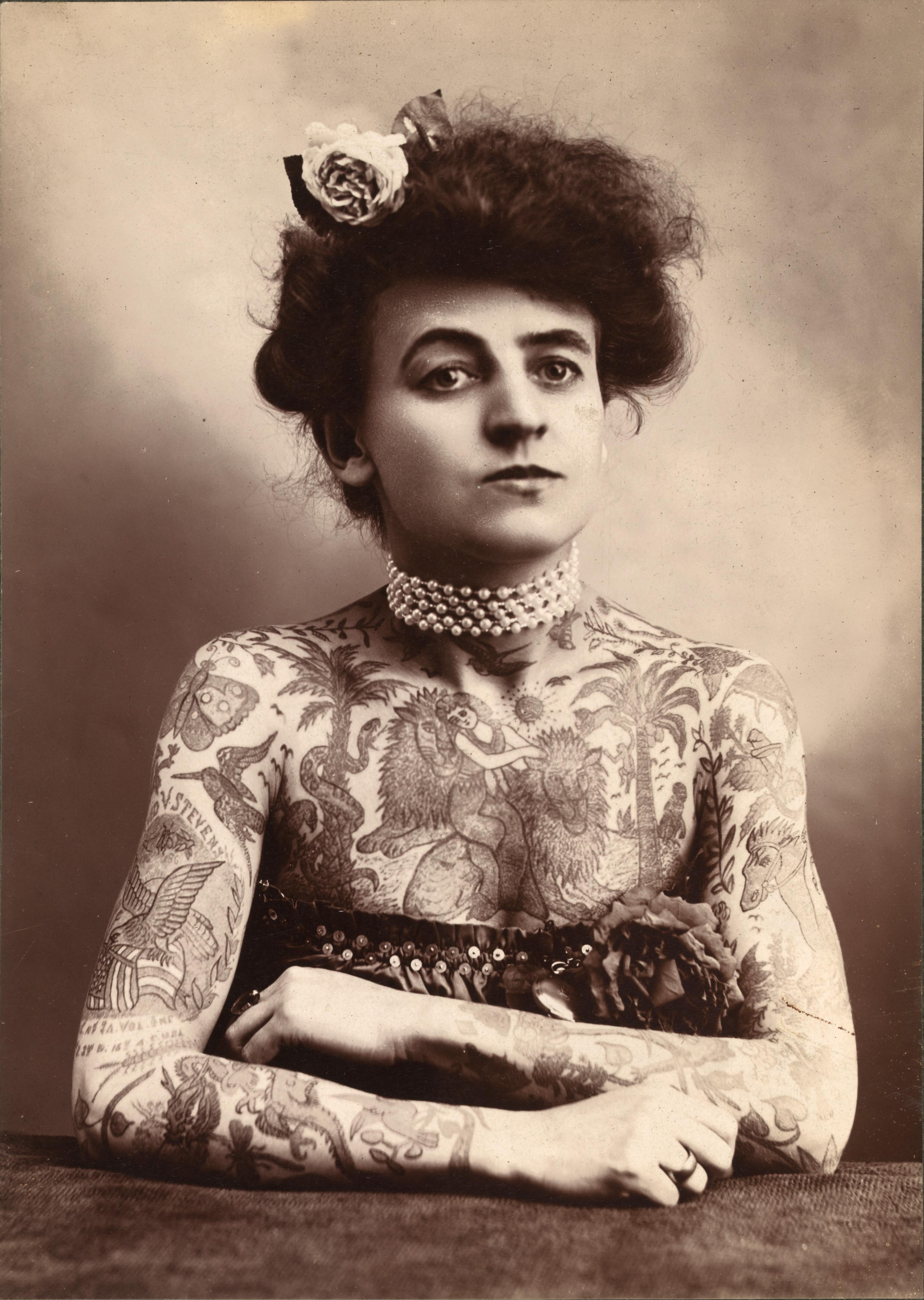Maud Stevens Wagner tattoo artist