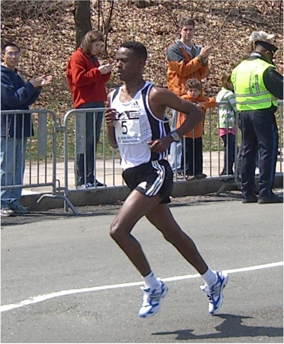 Gashaw Asfaw marathoner